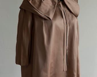 1950s Rose Colored Coat