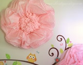 Extra giant paper flower decoration. Reception display, baby shower, birthday party. Paper flower wall. Photo backdrop.