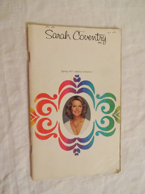 vintage sarah coventry catalog spring 1977 by chellesjewels