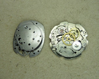 Vintage watch movements - set of 2 - c214