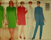 """Jacket, Dress & Pants - 1990's -  Butterick Pattern 4737  Uncut   Sizes 18-20-22  Bust 40-42-44"""""""