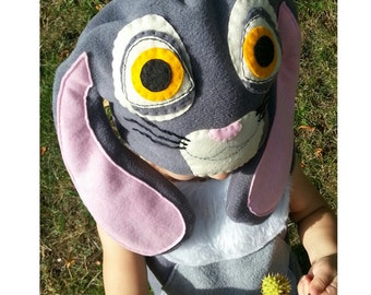 Sophie the first  bunny costume grey for baby toddler