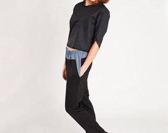 sewing pattern shirt & pants polly: downloadable sewing pattern pdf