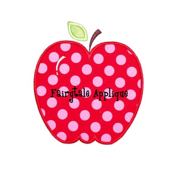 apple machine applique design