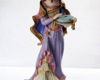 Lenox Figurine Princess and the Pea, Legendary Princesses Collection