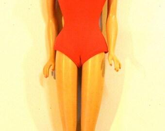 Vintage Barbie, Brunette Bubble-cut, Midge Barbie doll, Mattel 1962