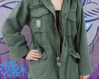 M-65 Field Jacket for Customized Velcro Tag
