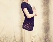 FLOWER of LIFE ... Women / Girls YOGA Shirt ... handpainted ... organic+earth friendly cotton