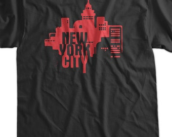 NY New York City Tshirt T-Shirt Tee Shirt Mens Womens Ladies Youth Kids Geek Funny