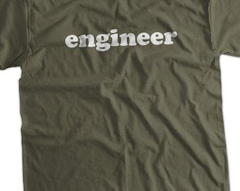Engineer T shirt Screen Printed T-Shirt  mens womens ladies youth kids school college university