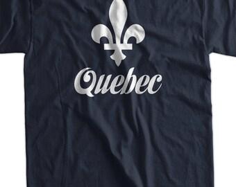 Quebec T-Shirt - Province french Tee Shirt T Shirt Geek Mens Ladies Womens Youth Kids