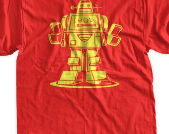 Funny Robot Tshirt Robotics T-Shirt Vintage Style Robot Shirt Geek Nerd School Gifts for Geeks Mens Womens Ladies Youth Kids