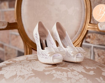 Swoon-worthy Shoes curated by WedLuxe on Etsy