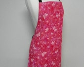 Pink Butterfly Apron
