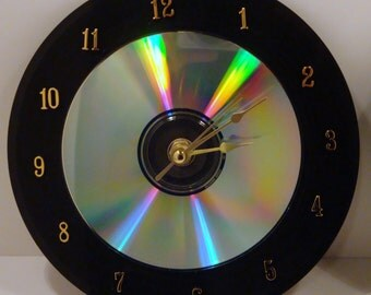 Upcycled 45 Album Clocks