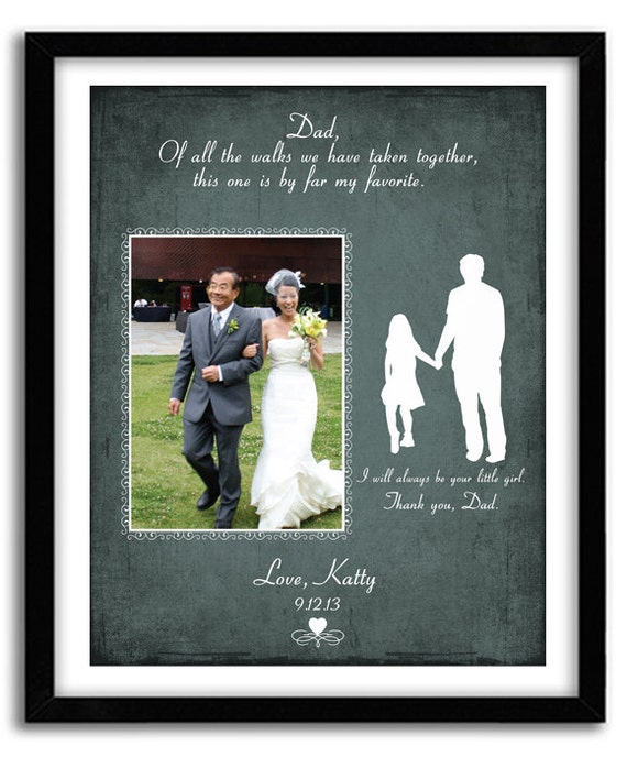 Wedding Gifts For Fathers: Wedding Gift For Father Of The Bride Personalized Wedding