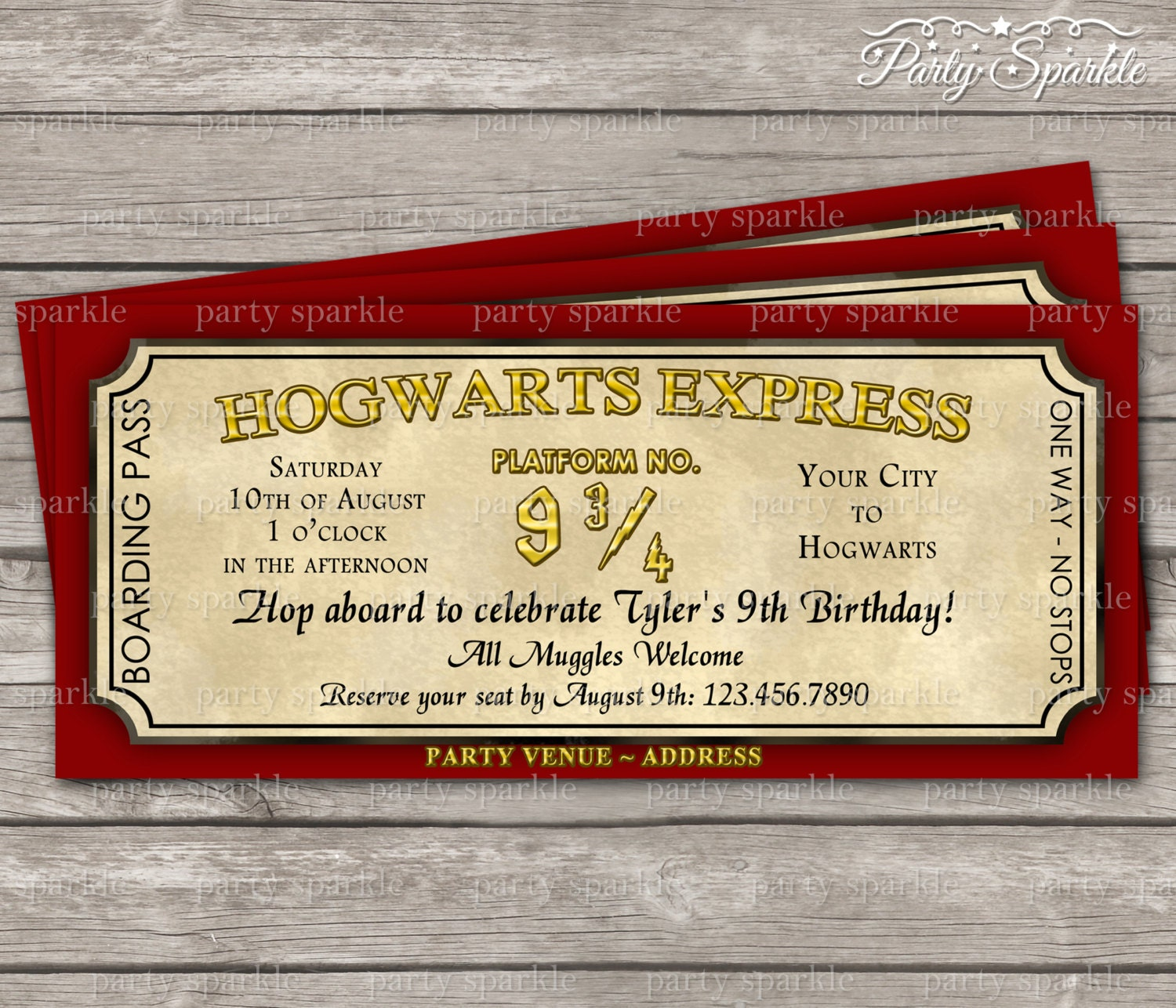 Harry Potter Party Invites is perfect invitation ideas