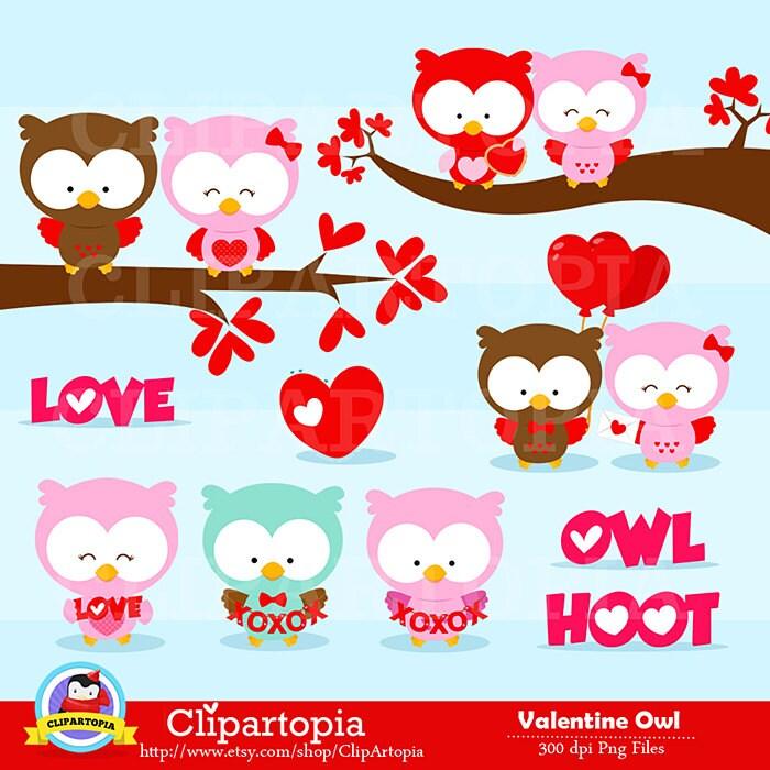 Pink owl clip art | Etsy