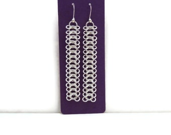 Jewelry Cards -  Long Earring Card - 30 Count - 5.5 in x 2 in -  Earring Card - Large Earring Card - Purple Earring Cards - Heavy Cardstock