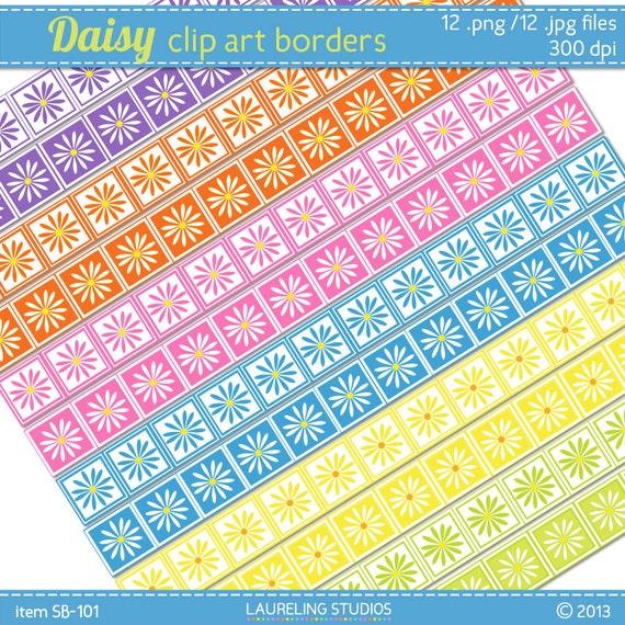 Pink Daisy Scrapbooking Daisy Scrapbook Border