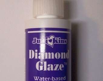 JudiKins Diamond Glaze 3 Dimensional Finish Coat for Jewelry and Shrink Art + Papercrafting and Rubber Stamping Adhesive