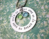 As Long As I'm Living, My Baby You'll Be, Mother's Necklace, Count Your Blessings,Grandmother's Necklace,Mother's Gift, Heart , Mother's Day