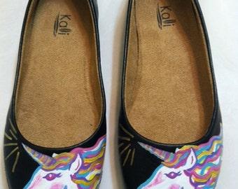 Black Unicorn Shoes