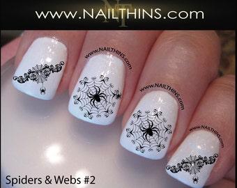 2018 or 2019 graduation nail decals graduation cap nail art spider web nail decal spider set no2 halloween nail wrap by nailthins prinsesfo Image collections