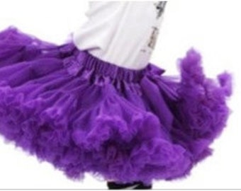 Purple Premium Petti Skirt