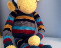 PATTERN George the Monkey - Stuffed Animal Crochet Pattern