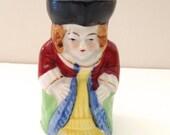 Miniature Marie Antoinette Toby Jug Occupied Japan