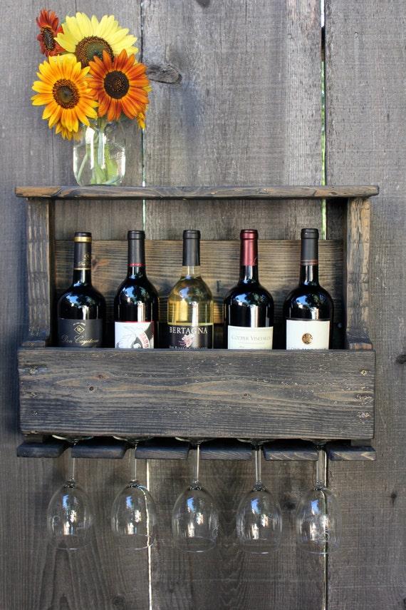 стеллаж для винных бутылок своими руками