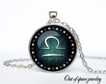 Libra Necklace, Libra Pendant Libra jewelry Zodiac Sign Pendant, Constellation Jewelry Art gift for men for women Golg