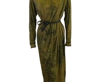 Vintage Printed Dress by Leonard 1980s