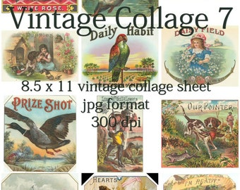 Vintage Collage 7