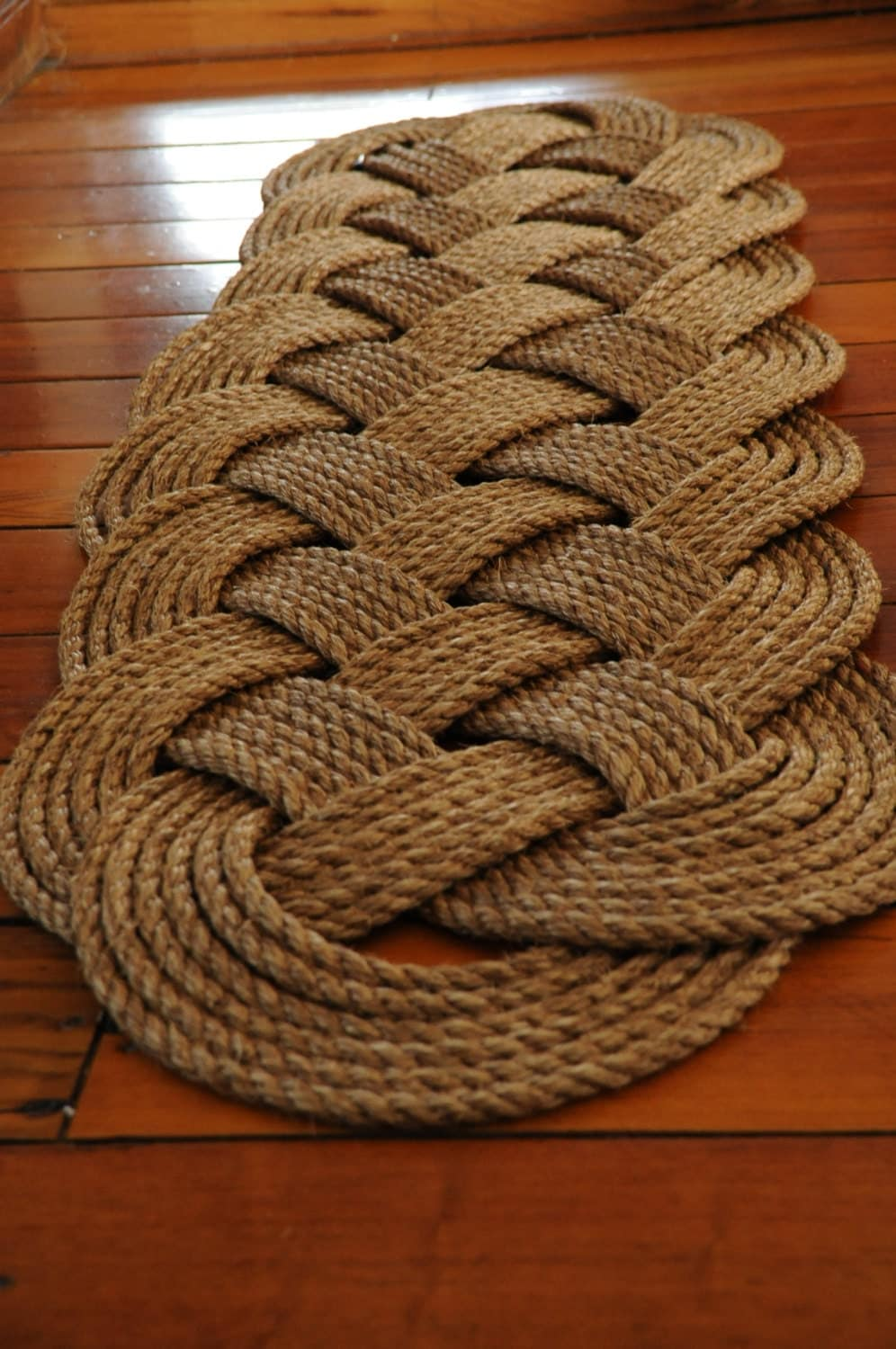 Nautical Rope Rug Prolong Manila Rope Rug Nautical Decor