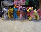My Little Pony Crochet Patterns