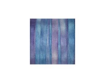 4mm 100 % Pure soie ruban bleu broderie - hortensia 3 mtr