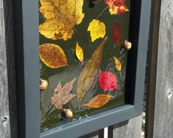 Natural // Acorn // Autumn Leaf // Wall Hanging