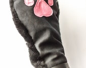 Lockable Kitten Paws with Faux Fur