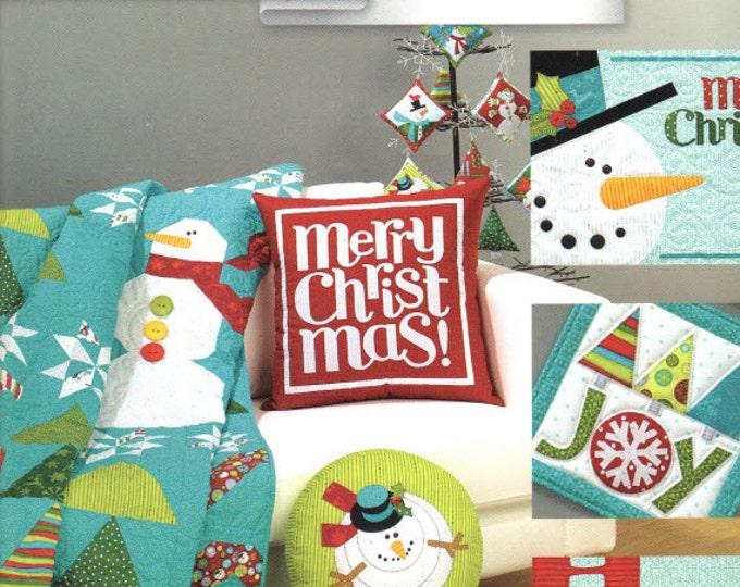 Ho Ho Ho Let It Snow - Pattern Book by Art to Heart - Nancy Halvorsen Quilt Patterns - 23 Project Designs (W1045)