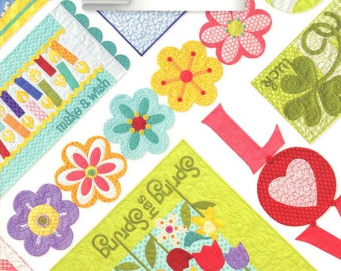 Table Please, Part One - Pattern Book by Art to Heart - Nancy Halvorsen Quilt Patterns - 15 Project Designs (W1049)