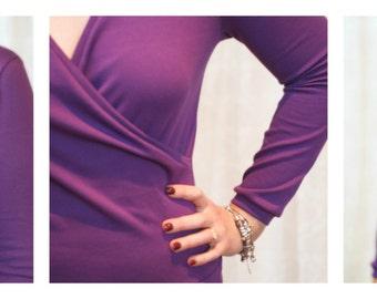 Wrapped Up ballet top pattern: Ladies' Edtion - PDF pattern