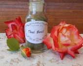 Dried Thai Basil, medium grind, 1/2 oz. no pesticides, no chemicals
