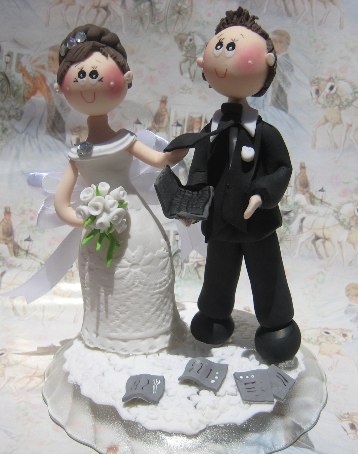 wedding cake toppers funny wedding cake topper cake topper laptop cake 26471