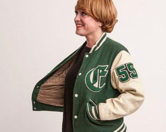 Vintage 80 's CHEVIGNON Original Baseball Jacket