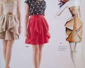 Simplicity 0275. Formal dress pattern, by Leanne Marshall. Sizes 4-12. New, Uncut, Factory Folded.