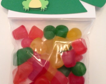 Frog Party Favor Bags