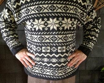 Vintage LL Bean Wool Sweater- Men's Large