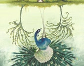 Beautiful illustrated poem, a woman see's her reflection and celebrates her divinity rather than vanity and encourages us to dance with her.